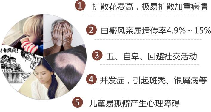 男性手部白癜风的危害都有哪些
